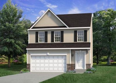 The Nittany New Home Plan in Drums PA