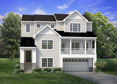 The Whitehall New Home Plan in Schnecksville PA
