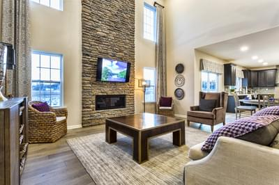 Great Rooms Lehigh Valley New Home Photos