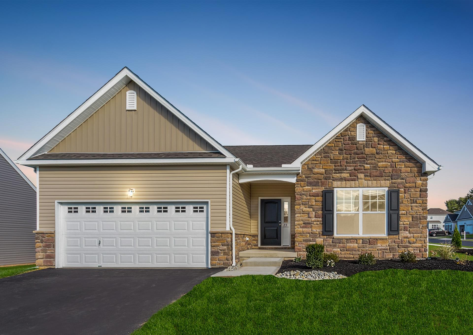 Golden Oaks Village New Homes in White Haven PA