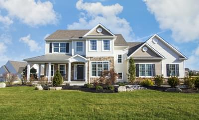 Bellwood Country Exterior. Tatamy, PA New Home