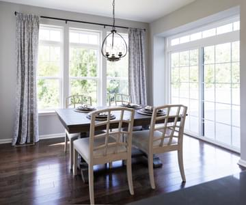Bellwood Dining Nook. New Home in Tatamy, PA