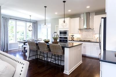 Bellwood Kitchen. 2,640sf New Home in Tatamy, PA