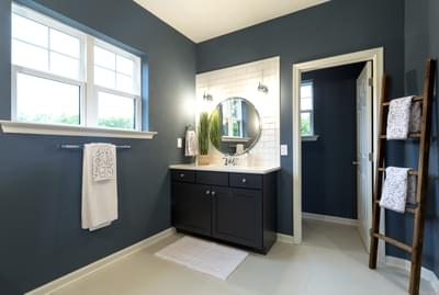Bellwood Owner's Bath. Bellwood New Home in Tatamy, PA