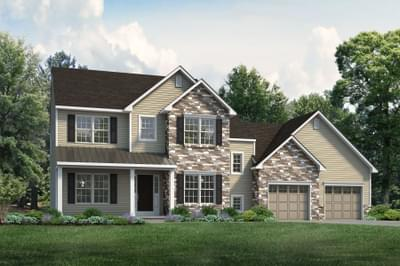 The Bellwood New Home Plan in Tatamy PA