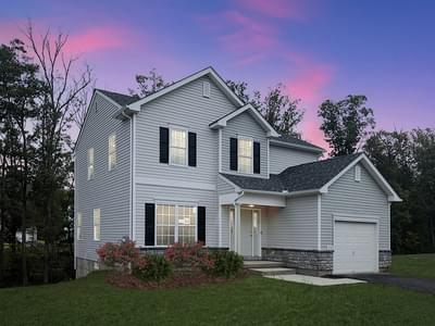 Birchwood Exterior. New Home in Drums, PA