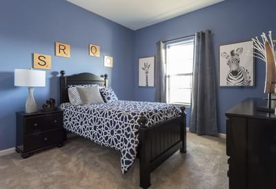Breckenridge Grande Bedroom. Breckenridge Grande New Home in Easton, PA