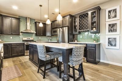 Breckenridge Grande Optional Kitchen Layout. 3,117sf New Home in Easton, PA
