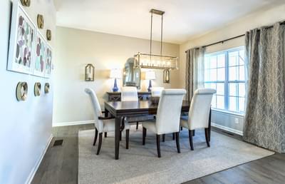 Breckenridge Grande Dining Room. Breckenridge Grande New Home in Easton, PA