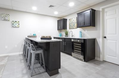 BBreckenridge Grande Optional Finished Optional Finished Basement. Breckenridge Grande New Home in Easton, PA