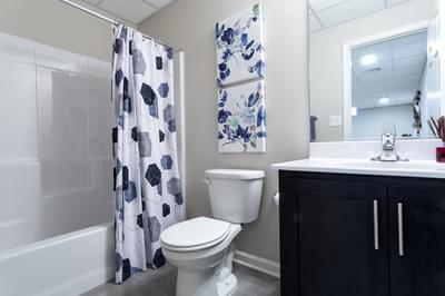 Breckenridge Grande Hall Bath. Breckenridge Grande New Home in Easton, PA