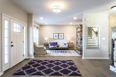 Breckenridge Grande Living Room. Breckenridge Grande New Home in Easton, PA