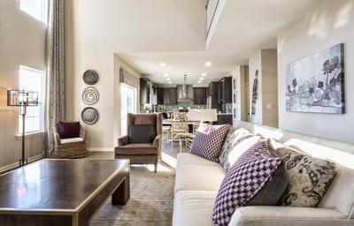 Breckenridge Grande Great Room. Easton, PA New Home