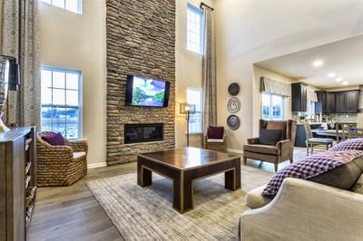 Breckenridge Grande Great Room. New Home in Easton, PA
