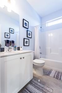 Breckenridge Grande Hall Bath. New Home in Easton, PA