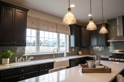 Breckenridge Grande Optional Kitchen Layout. New Home in Easton, PA