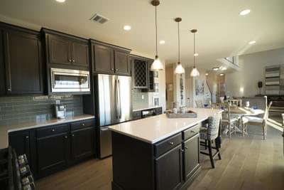 Breckenridge Grande Optional Kitchen Layout. Easton, PA New Home