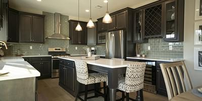 Breckenridge Grande Optional Kitchen Layout. 4br New Home in Easton, PA
