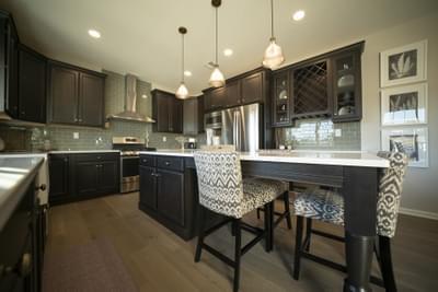 Breckenridge Grande Optional Kitchen Layout. Breckenridge Grande New Home in Easton, PA