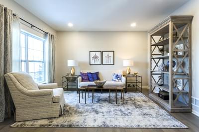 Breckenridge Grande Living Room. 4br New Home in Easton, PA