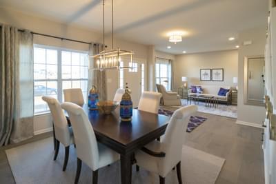 Breckenridge Grande Dining Room. 4br New Home in Easton, PA