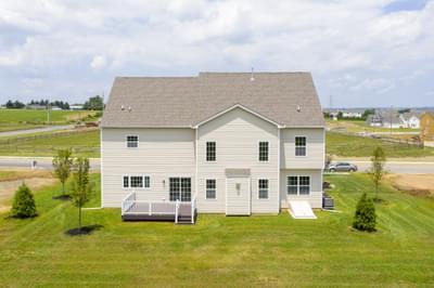 Breckenridge Grande Exterior. New Home in Easton, PA