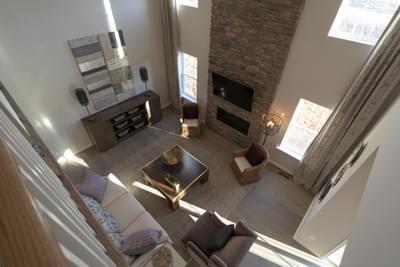 Breckenridge Grande Great Room. 3,117sf New Home in Easton, PA