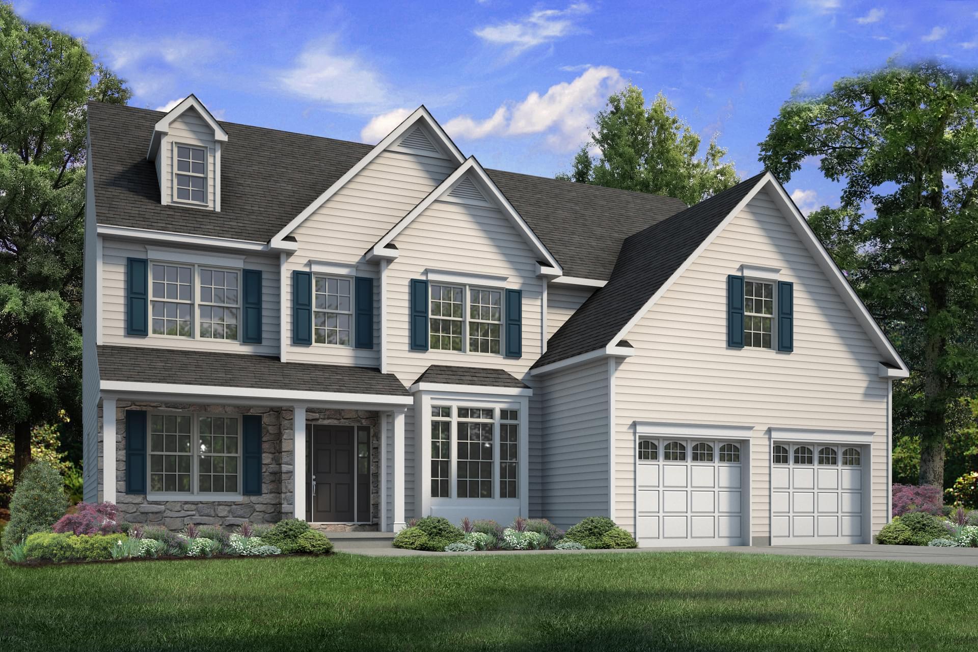The Breckenridge Grande New Home in Easton PA - Northwood Farms