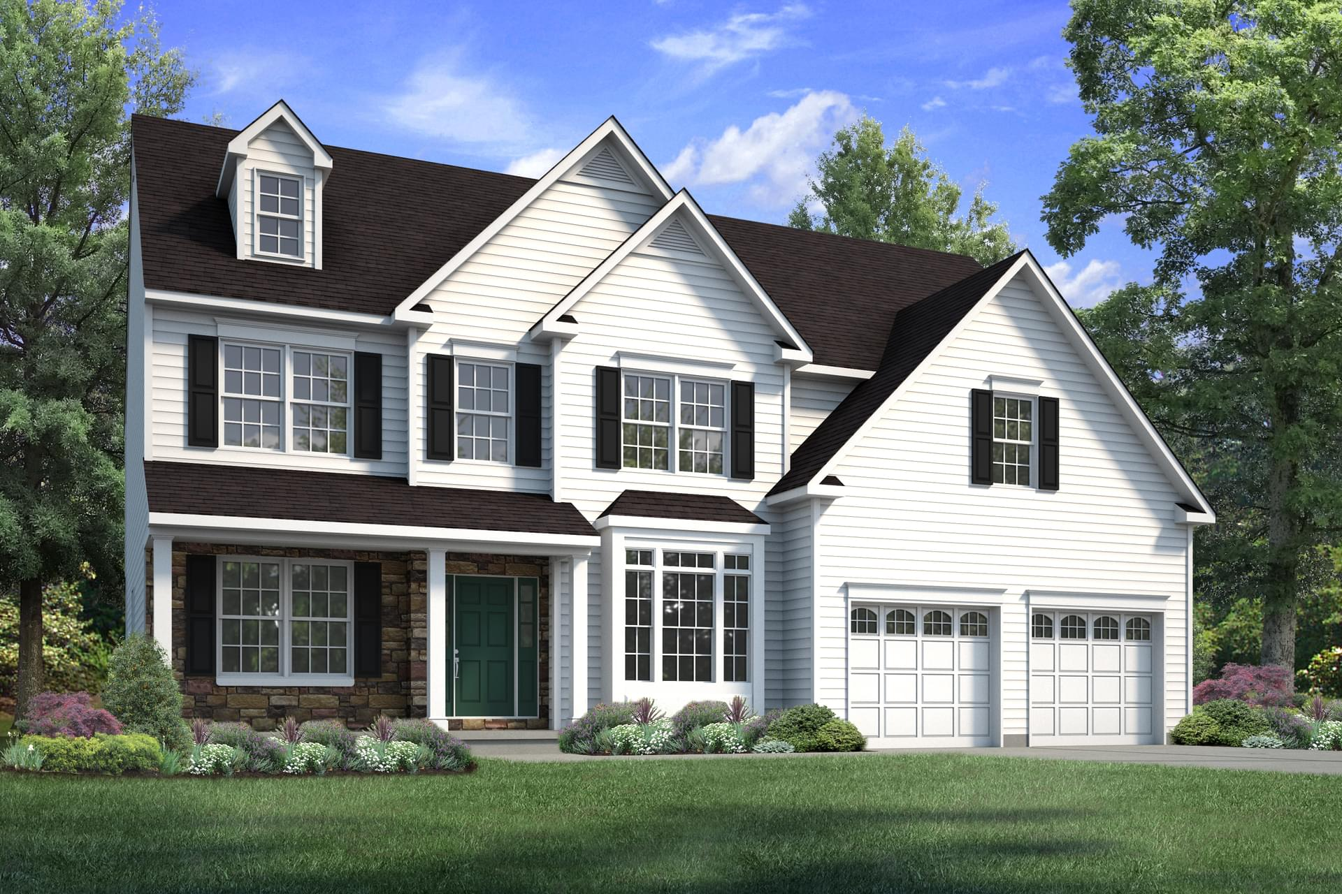 The Breckenridge New Home in Drums PA - Sand Springs