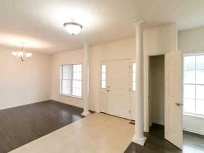 Breckenridge Foyer. 2,954sf New Home in Drums, PA