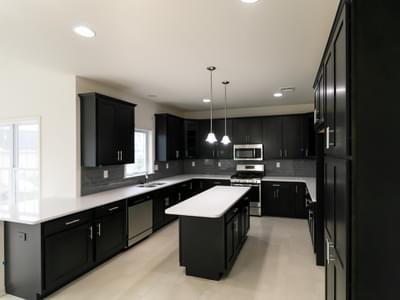 Breckenridge Kitchen. Breckenridge New Home in Drums, PA
