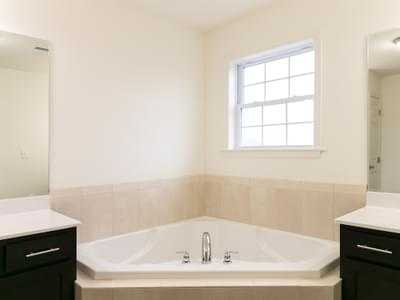 Breckenridge Owner's Bath. Drums, PA New Home