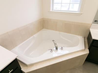Breckenridge Owner's Bath. New Home in Drums, PA
