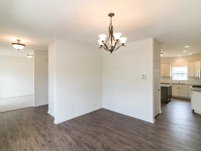 Chapman Dining Room. 2,144sf New Home in Schnecksville, PA