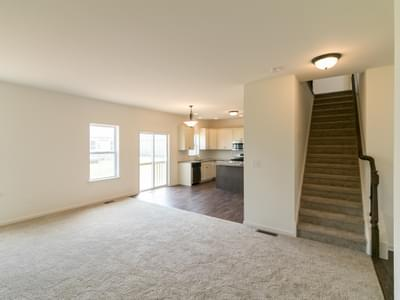 Chapman Great Room. 4br New Home in Schnecksville, PA