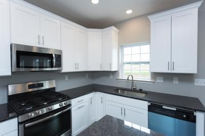 Chapman Kitchen. 2,144sf New Home in Schnecksville, PA