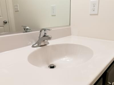 Chapman Hall Bath. 2,144sf New Home in Schnecksville, PA