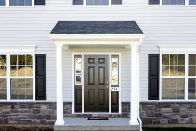 Chapman Traditional Exterior. New Home in Schnecksville, PA