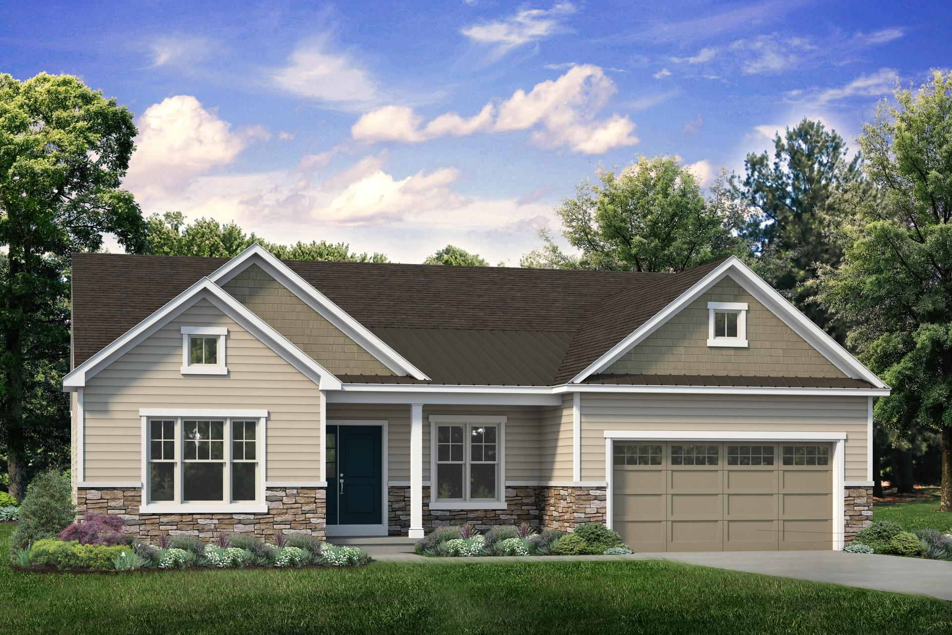 The Folino New Home in Schnecksville PA - Ridings at Parkland
