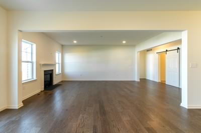 Folino Great Room. Folino New Home in Schnecksville, PA