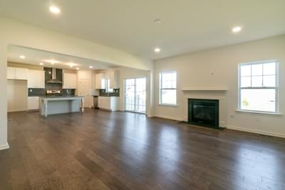 Folino Great Room. Schnecksville, PA New Home
