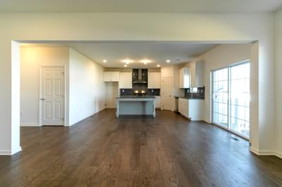 Folino Great Room. 2,134sf New Home in Schnecksville, PA