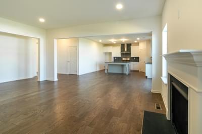 Folino Great Room. 3br New Home in Schnecksville, PA