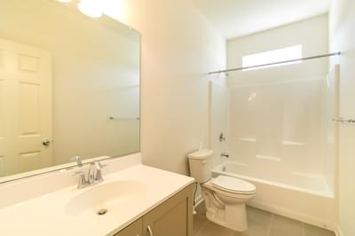 Folino Hall Bath. 2,134sf New Home in Schnecksville, PA