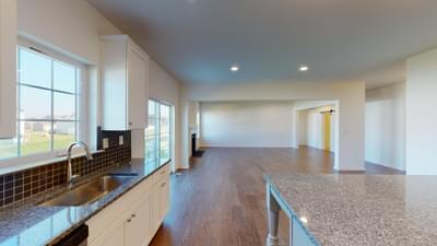 Folino Kitchen. Folino New Home in Schnecksville, PA