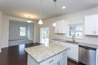 Birchwood Kitchen. New Home in Drums, PA