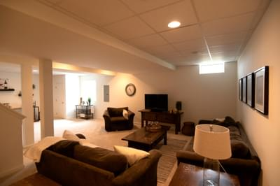 Kingston Optional Finished Basement. Coopersburg, PA New Home