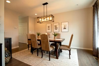Kingston Dining Room. 2,475sf New Home in Coopersburg, PA