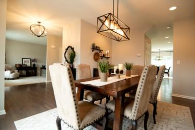 Kingston Dining Room. Kingston New Home in Coopersburg, PA