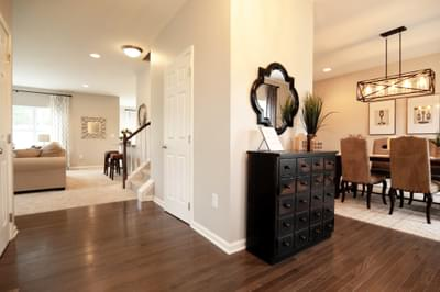 Kingston Foyer. 4br New Home in Coopersburg, PA